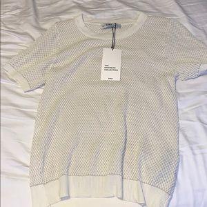 NWT zara knitwear shirt